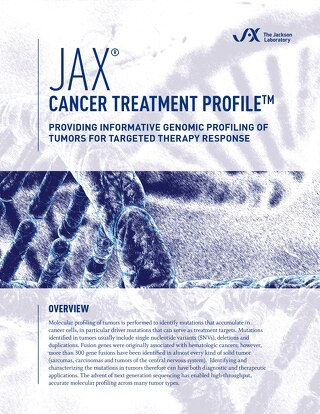 Cancer Treatment Profile: Providing Informative Genomic Profiling of Tumors for Targeted Therapy Response