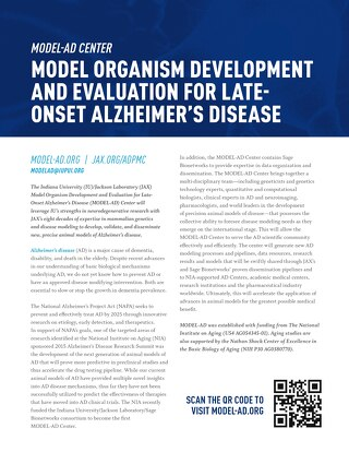Model Organism Development and Evaluation for Late-Onset Alzheimer's Disease