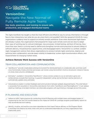 Navigate the New Normal of Fully Remote Agile Teams