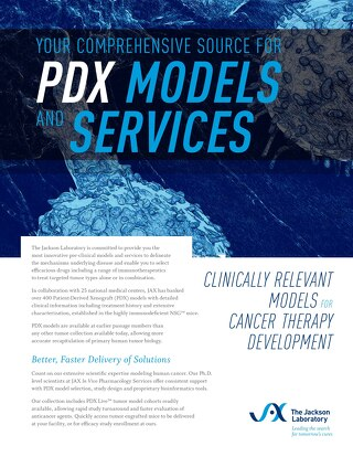 PDX Models and Services