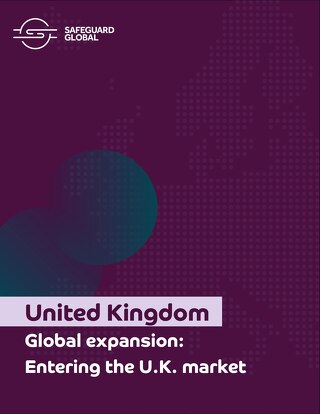 Global expansion: Entering the U.K. market