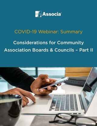 COVID-19 Webinar  Summary - Part 2