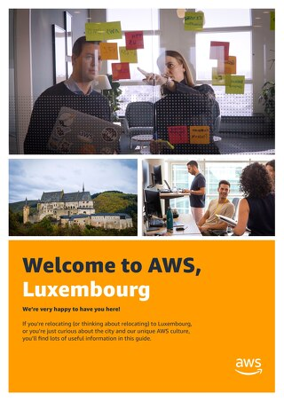 Welcome to AWS, Luxembourg