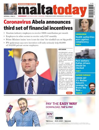 MaltaToday 25 March 2020 MIDWEEK