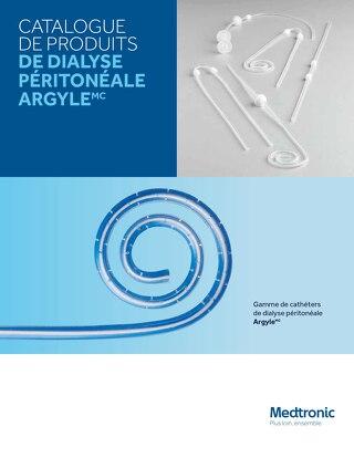 CATALOGUE DE PRODUITS DE DIALYSE PÉRITONÉALE ARGYLE