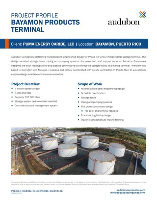 Bayamon Products Terminal