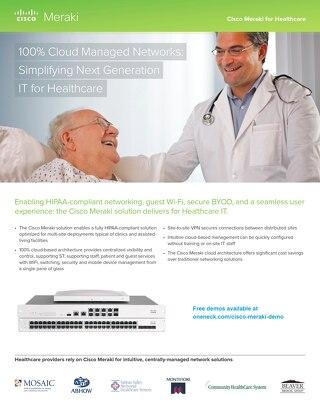 Meraki Healthcare Overview Guide