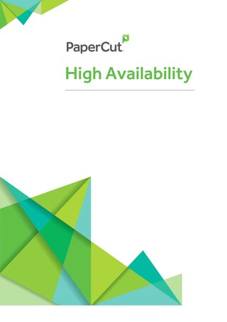PaperCut High Availability Whitepaper