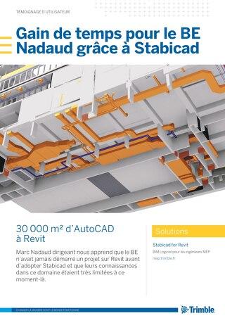 Gain de temps pour le BE Nadaud grâce à Stabicad