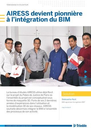 AIRESS devient pionnière à l'intégration du BIM