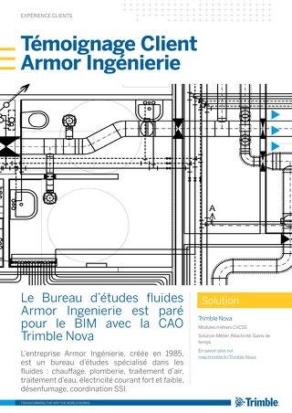 Armor Ingenierie est paré pour le BIM avec Trimble Nova