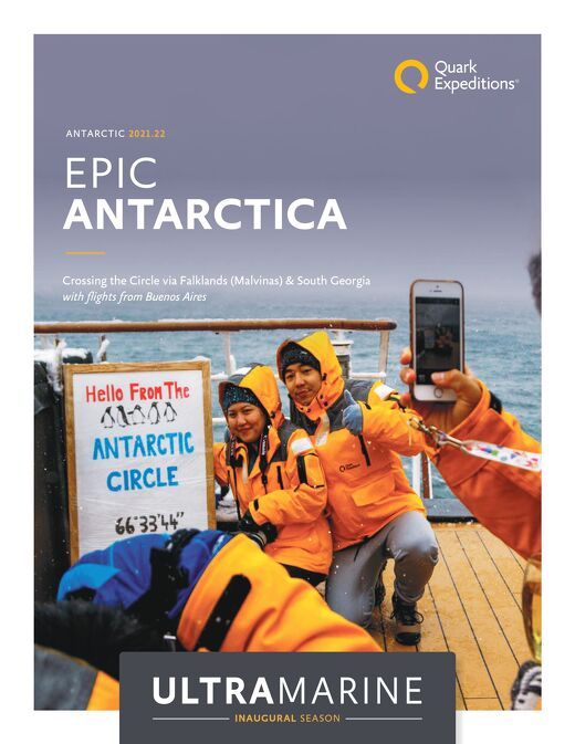 Epic Antarctica: Crossing the Circle via Falklands and South Georgia (From Buenos Aires)