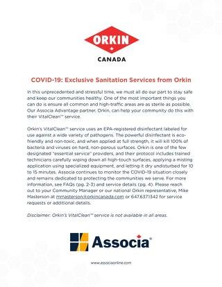 Canada - Orkin VitalClean™ Service