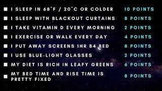 Sleep Fundamentals Checklist