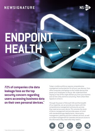 NS:GO Endpoint Health 2020 Flyer