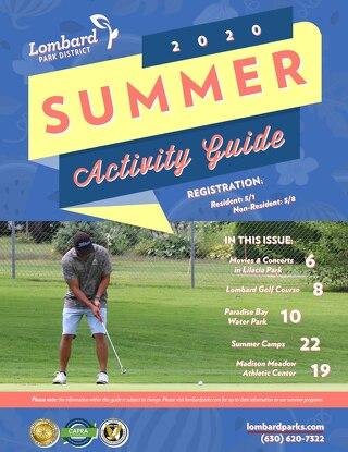 2020 Summer Activity Guide