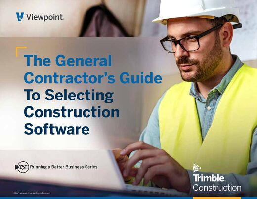 The General Contractor's Guide to Selecting Construction Software: 2020