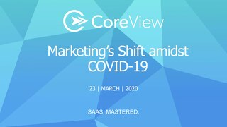 CoreView Marketing's Shift amidst COVID-19