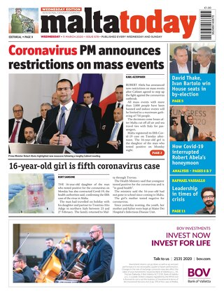 MALTATODAY 11 March 2020 Midweek