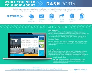 Get to Know Dash Portal - Traveler