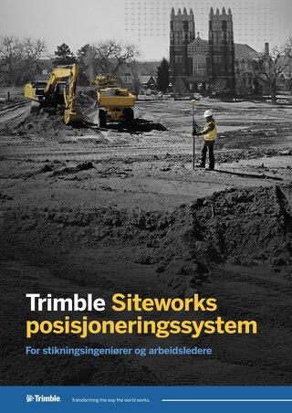 Trimble Siteworks Datasheet - Norwegian