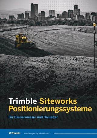 Trimble Siteworks Datasheet - German