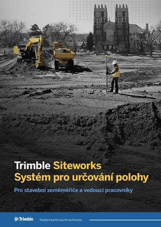 Trimble Siteworks Datasheet - Czech