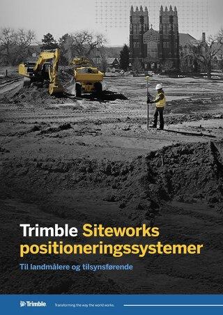 Trimble Siteworks Datasheet - Danish