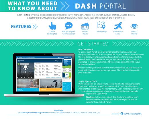 Get to Know Dash Portal for the Travel Manager