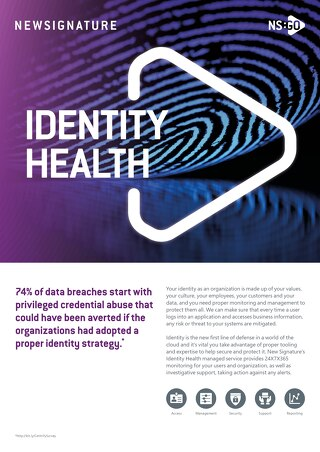 NS:GO Identity Health 2020