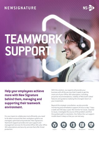 NSGO Teamwork Support 2020
