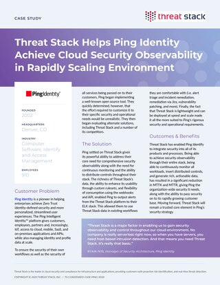 Ping Identity Case Study