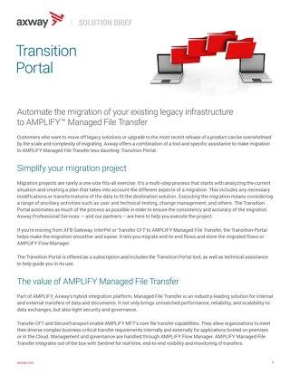 Transition Portal