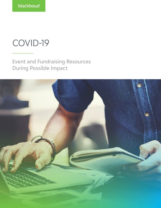 COVID-19 Response Guide for Fundraising and Events