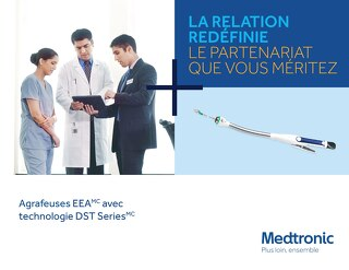 Agrafeuses EEA avec technologie DST Series