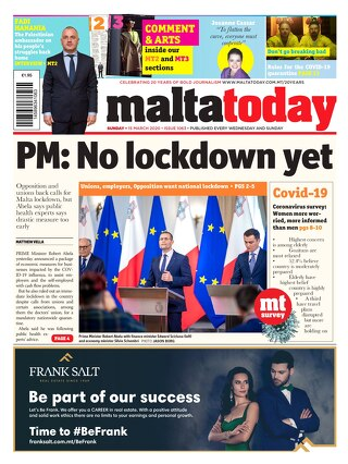 MALTATODAY 15 March 2020