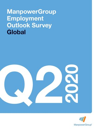 ManpowerGroup Employment Outlook Q2 2020