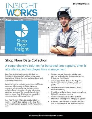 Insight Works Shop Floor Insight