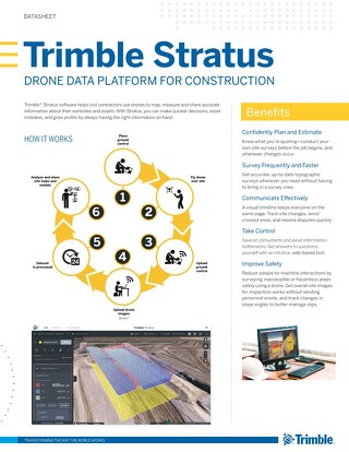 Trimble Stratus Datasheet - English