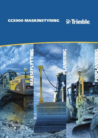 Trimble GCS900 Brochure - Norwegian