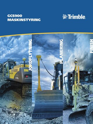 Trimble GCS900 Brochure - Danish