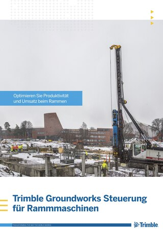 Trimble Groundworks - Piling Brochure - German