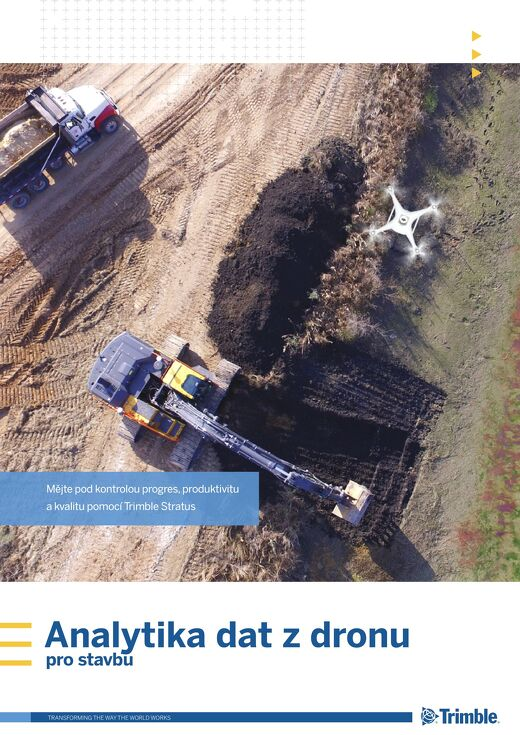 Trimble Stratus - Drone Data Analytics for Construction Brochure - Czech