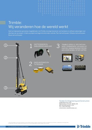 Trimble Groundworks - Piling Brochure - Dutch
