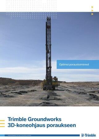 Trimble Groundworks - Drilling Brochure - Finnish