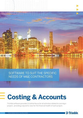 Costing and Accounts Product Guide