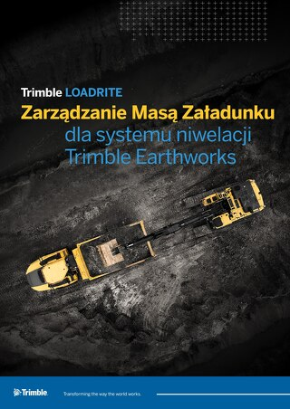 Trimble LOADRITE Payload Management for Trimble Earthworks Grade Control Platform - Polish