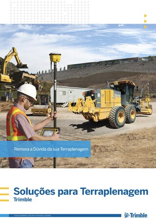 Trimble Earthworks Solutions Brochure - Portuguese
