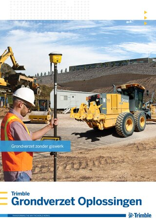 Trimble Earthworks Solutions Brochure - Dutch
