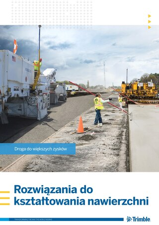 Trimble Paving Solutions Brochure - Polish